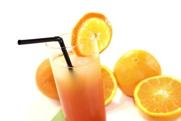 Campari Orange auf einer Serviette
