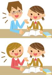 家庭教師 塾