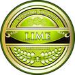 Lime Vintage Label