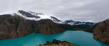 Panorama of Phoksundo lake in Eastern Nepal