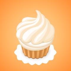 cake with meringue