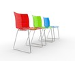 Cool Colorful Plastic Chairs