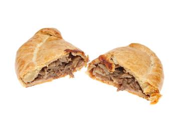 Cut Cornish pasty