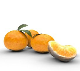 Oranges With One Slice