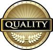 Quality Gold Vintage Label