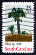 Postage stamp USA 1988 South Carolina, Ratification of the Const