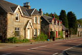 Spring evening in Strathyre, Scotland, UK.