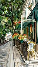 Pariser Straße - illustration