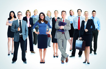 Business people team.