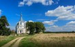 Сельская православная церковь.