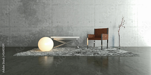 canvas print picture Interior, Innenraum, Modern, Design