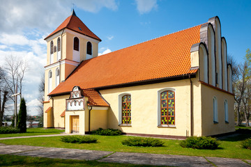 Church of St Andrew Bobola in Rydzewo