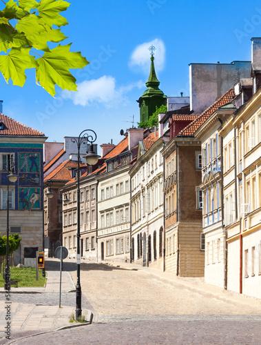 Downtown streets of Warsaw © Sergey Novikov