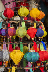 Farolillos típicos de Vietnam