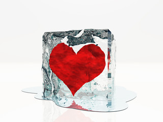 Heart frozen