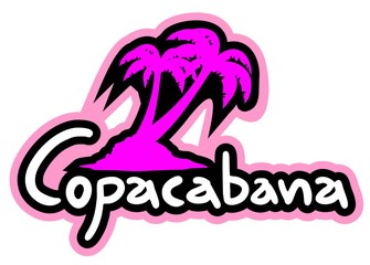 Beach copacabana