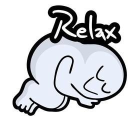 Relax puppet