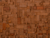 Blocks of exceptional fine esteemed Mahogany poster