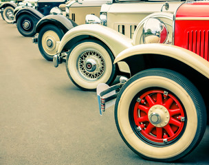 Vintage Cars Wheels