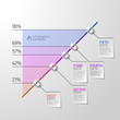 Business diagram infographics element