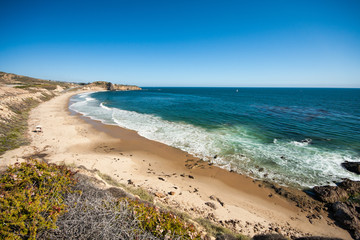 Beautiful beach in Orange County, CA