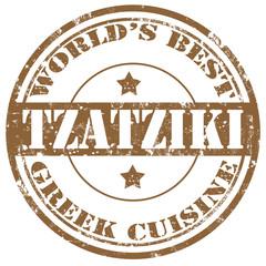 Tzatziki-stamp