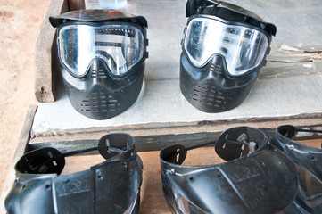 Paintball Mask safety sport gun