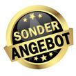 """Button mit Banner """" SONDERANGEBOT """""""