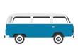 old bus oldtimer retro van vector illustration - 56465441
