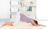 Pregnancy yoga at home