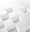 Abstract 3D cube background - 56467846