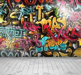 Graffiti on wall - 56467874
