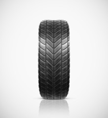Isolated tire