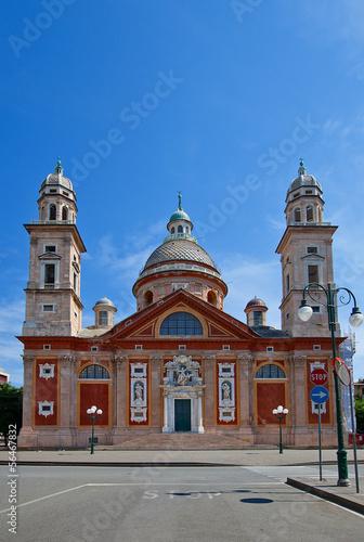 Church of Santa Maria Assunta (XVI c.). Carignano, Genoa, Italy