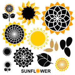 Sunflower. Set