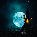 Horror and mystery backgrounds for your design