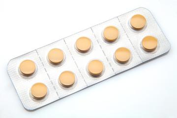 píldoras envasadas