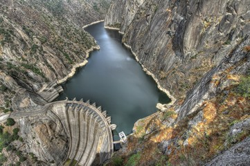 Dam of Aldeadavila in Spain.