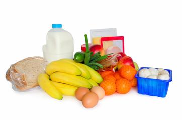 groceries or basic food package