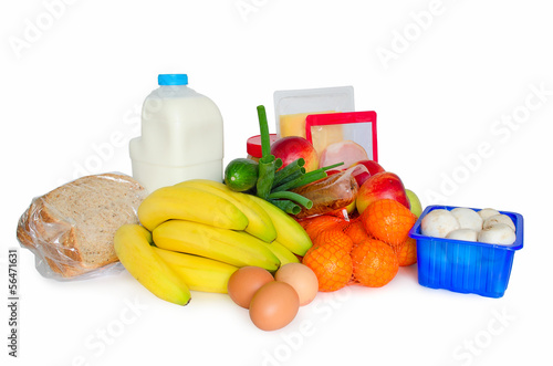 groceries or basic food package
