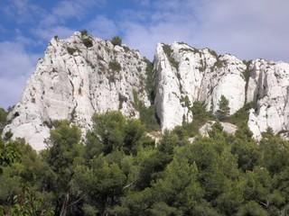 calanques - falaise calcaire