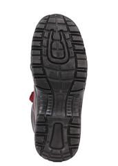 Black shoe soles.