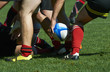 canvas print picture - melee de rugby