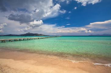 Alcudia beach, Majorca