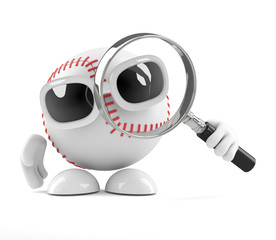 Baseball searches with a magnifying glass