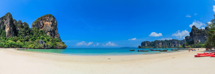 Panorama of Railay Beach