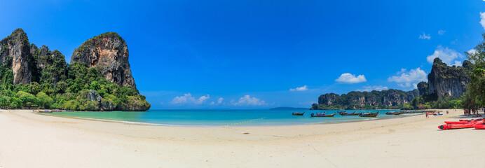 Panorama of Railay Beach