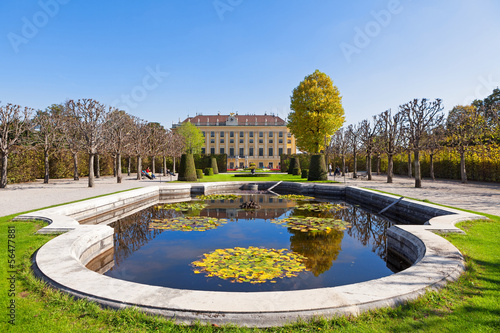 Autumn Park in Vienna