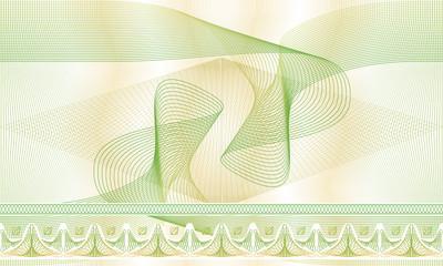 Бесшовный фон, текстура для ценных бумаг, сертификатов, дипломов