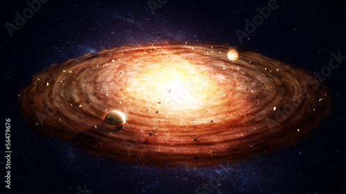 Protoplanetary disk